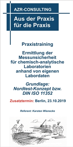 Praxistraining Messunsicherheit