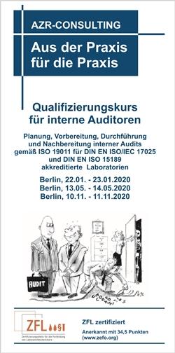 Qualifizierungskurs für interne Auditoren