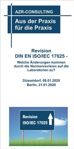Revision DIN EN ISO/IEC 17025