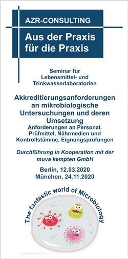 Akkreditierungsanforderungen an mikrobiologische Untersuchungen