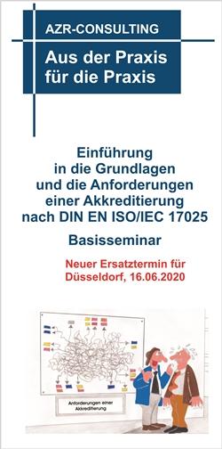Basisseminar DIN EN ISO/IEC 17025