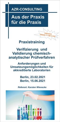 Praxistraining - Verifizierung und Validierung