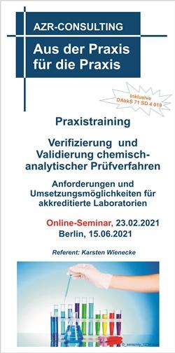 Praxistraining Verifizierung und Validierung