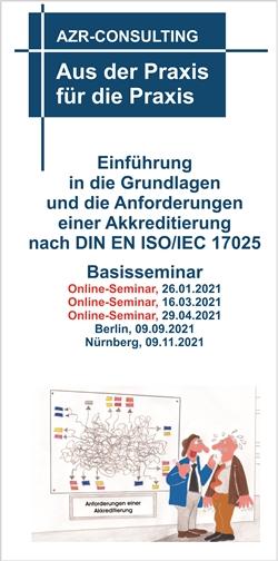 Basisseminar 17025